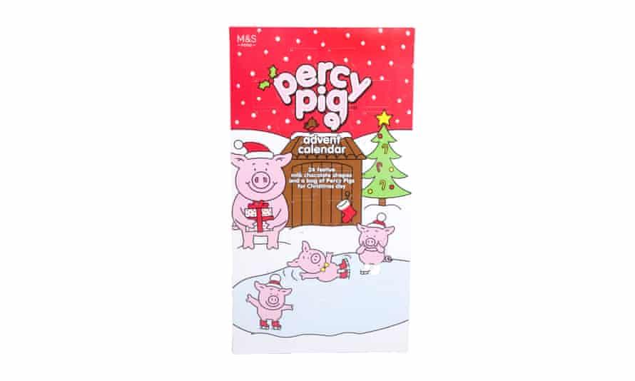 Percy Pig advent calendar