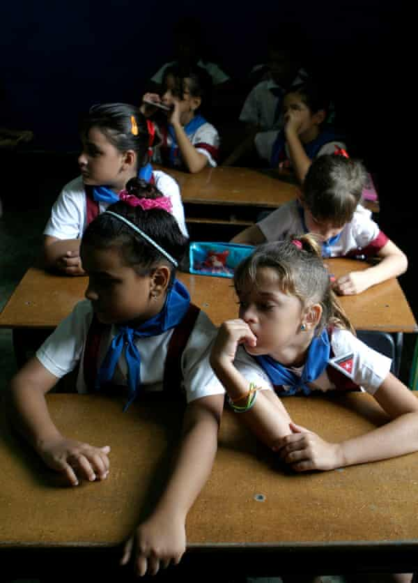 Nicolás Estévanez Murphy school, Havana.