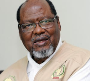 'We were taken to a kraal for goats': former Mozambican president Joaquim Chissano.