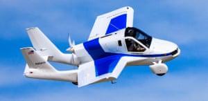 Terrafugia's 'roadable aircraft'.