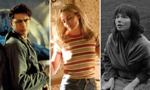 Jeff Goldblum as David Levinson in Independence Day, Margot Robbie as Sharon Tate in Once Upon a Time in Hollywood and Björk as Margit in The Juniper Tree
