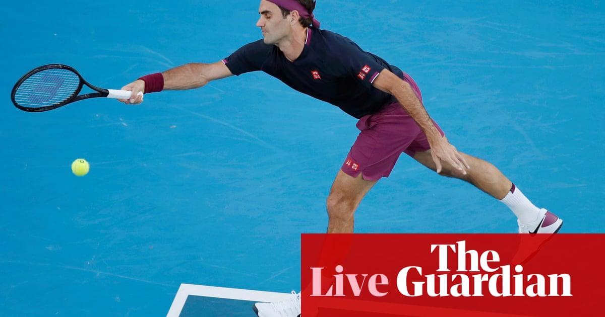 Roger Federer v Novak Djokovic: Australian Open semi-final – live!