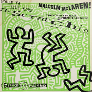 Keith Haring, Would Ya Like More Scratchin by Malcolm McLaren & The World's Famous Supreme Team Show, 1983