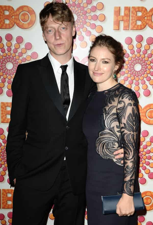 With her ex-husband, Travis bassist Dougie Payne, in 2011.