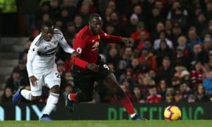 Romelu Lukaku got on the scoresheet in Saturday's win against Fulham.