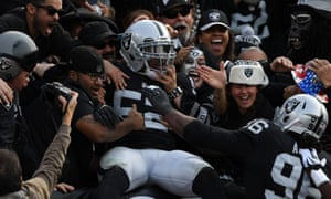 The Oakland Raiders will move from California to Nevada in the next few years