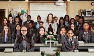 Year 7 at Townley grammar school which is featured in Grammar Schools: Who Will Get In?