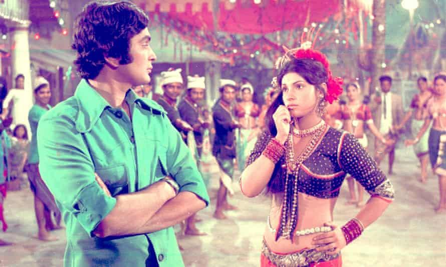 Rishi Kapoor and Dimple Kapadia in Bobby.