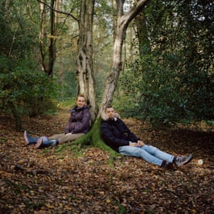 Jan and Ivana in Lickey Hills, October 2018.