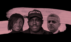 Sharon White, Edward Enninful and Sadiq Khan.