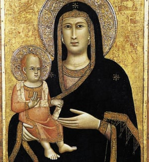 The Madonna and Child by Giotto