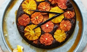Claire Ptak's orange upside-down cake