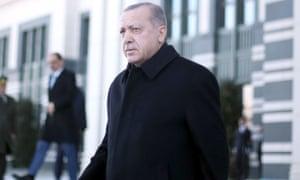 Turkey's Recep Tayyip Erdoğan