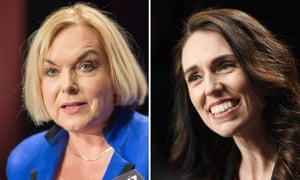 Judith Collins and Jacinda Ardern.
