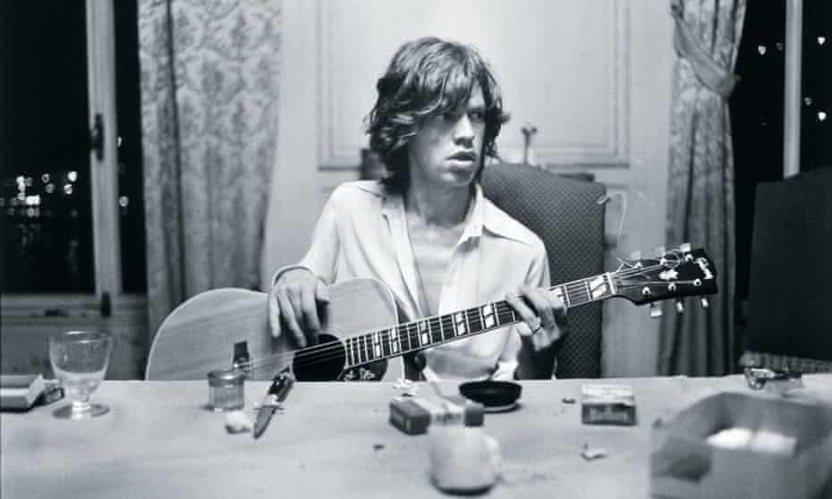 Stones frontman Mick Jagger.