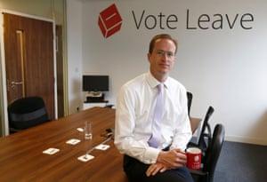 Head of Vote Leave, Matthew Elliott, was interviewed for the piece.