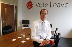 Matthew Elliott, the head of Vote Leave