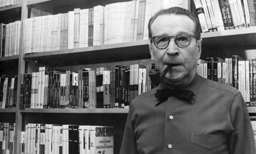 Georges Simenon in 1973