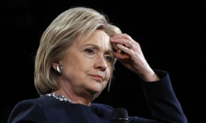 Hillary Clinton has faced questions about her email arrangements since it emerged last year that she had used a private server for official business while secretary of state.