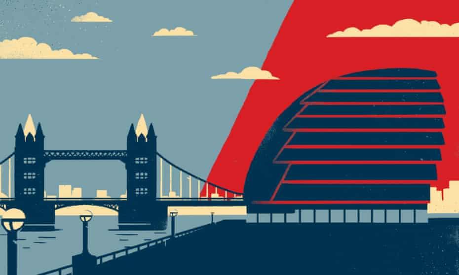City Hall, illustrated by Sébastien Thibault