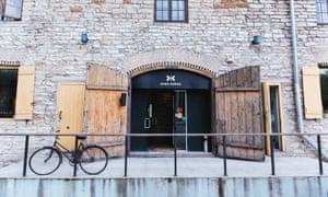 Exterior of Kaks Kokka restaurant in Tallinn, Estonia