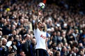 Tottenham Hotspur's Kyle Walker
