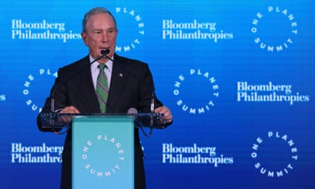 Michael Bloomberg has thrown his hat into the Democratic race for the 2020 presidential nomination but the billionaire is also the owner of a major news service.