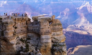 Grand Canyon national park: selling bottled water will be allowed there again.