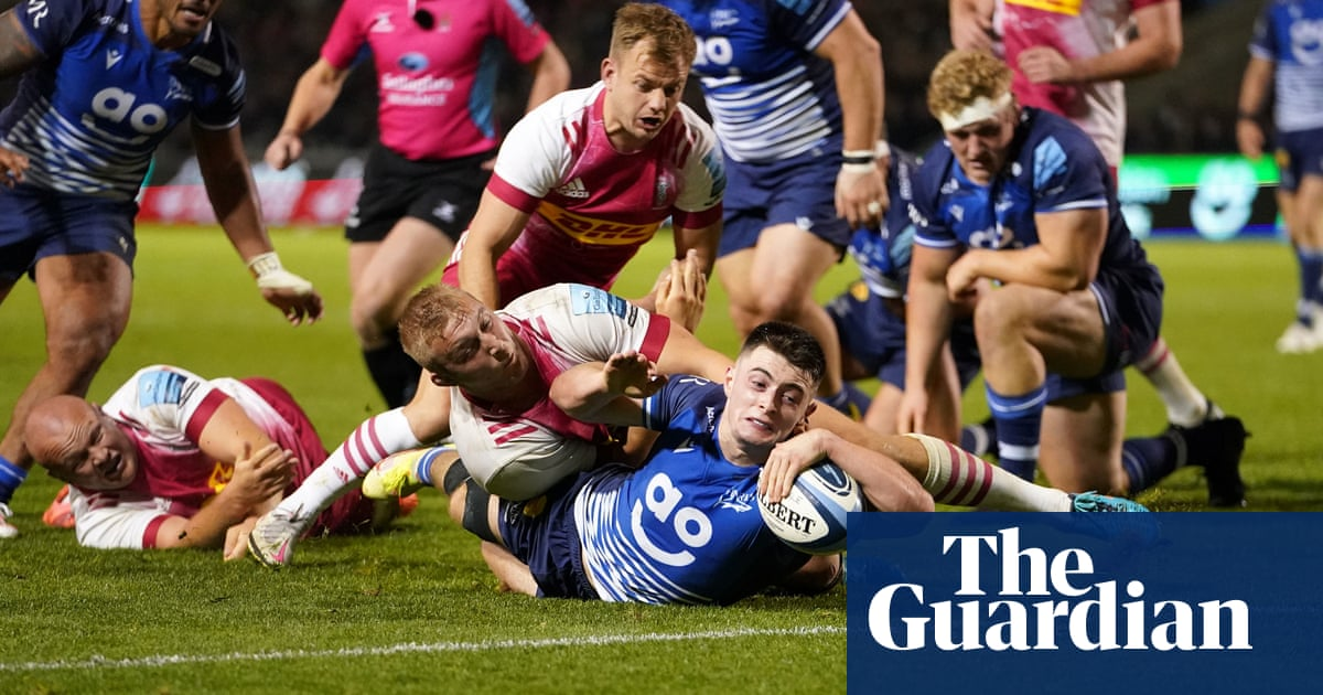 Quirke's double tips seesaw contest Sale's way and sinks Harlequins