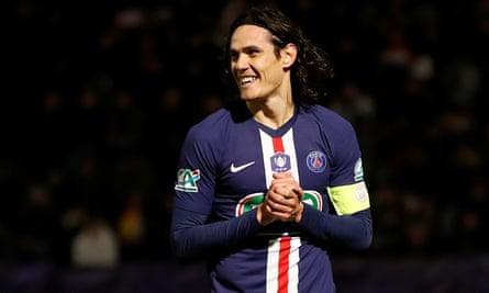 Is Edinson Cavani set for a swansong in the Premier League?