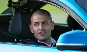 Top Gear's Chris Harris: getting into the fast lane with a new BBC America series.