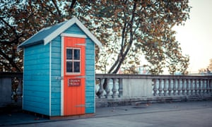 Martyn Ware's beach hut exhibition