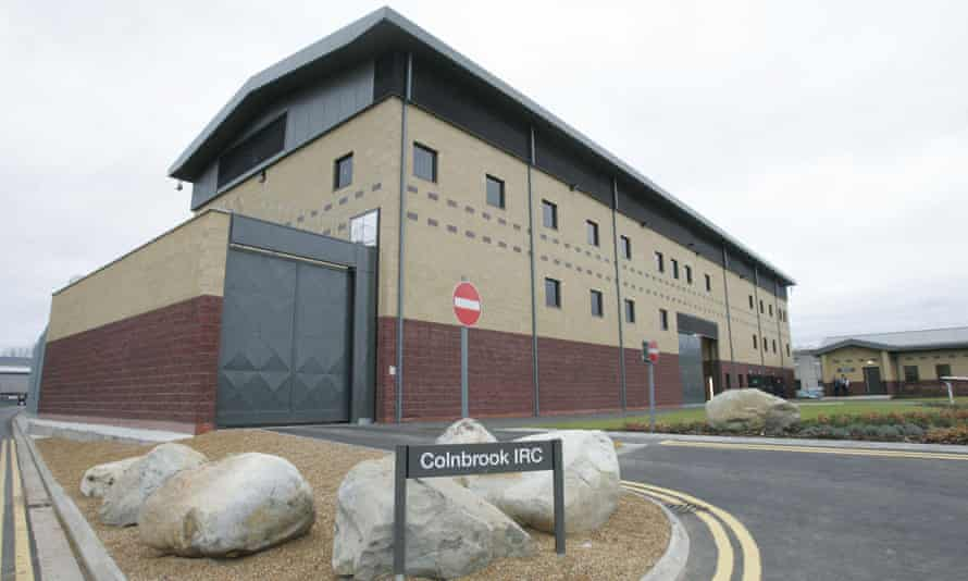 Colnbrook immigration removal centre in Uxbridge, near Heathrow airport.