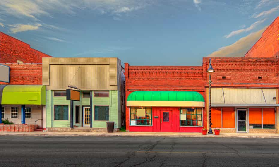 A portrait of small-town America … Carterville, Illinois.