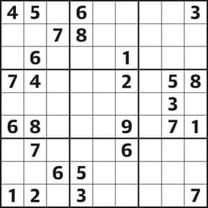 Sudoku 4711 hard