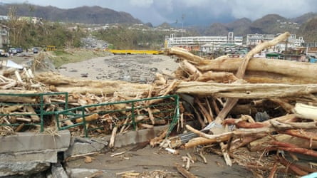 The first images from Dominica show the scale of the damage caused by Hurricane Maria.