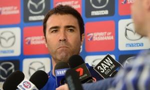 North Melbourne coach Brad Scott