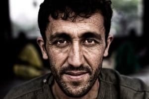 Category: Portrait. Title: Stare. A man from Afghanistan