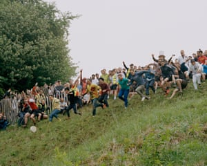 Cooper's Hill Cheese Rolling, Gloucestershire, 2018