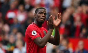Paul Pogba impressed in Manchester United's opening-day win over Chelsea.