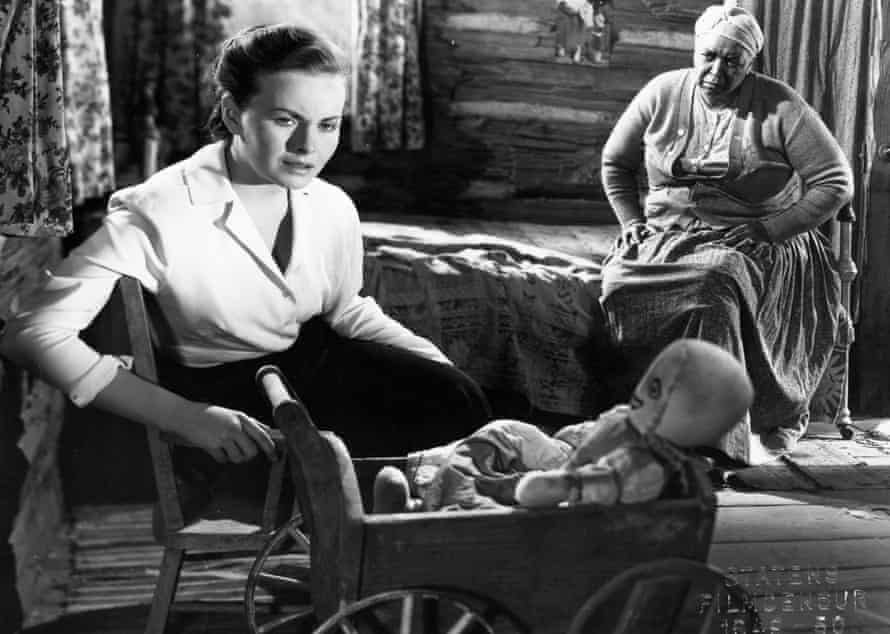 Groundbreaking … Pinky, starring Jeanne Crain and Ethel Waters, 1949.