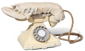 Salvador Dalí lobster telephone