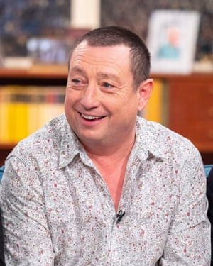 Lee MacDonald on ITV's This Morning in 2018
