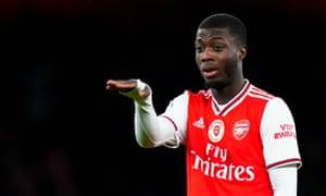 Nicolas Pépé's impact has so far come mostly from the bench but Mikel Arteta has confidence in the Ivorian winger.