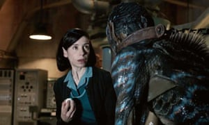 Best picture … The Shape of Water.