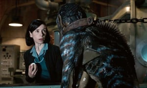 Immersive cinema … Sally Hawkins in Guillermo del Toro's The Shape of Water.