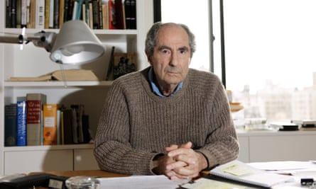 Philip Roth: 'I don't smile'.