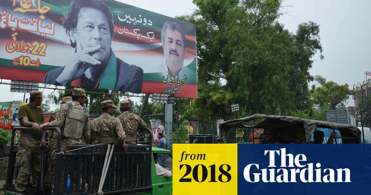 Anti-military protests rock Pakistan in run-up to fiercely