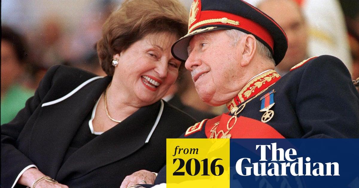 Pinochet S Widow Under Investigation On Suspicion Of Swindling Millions World News The Guardian