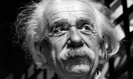 Physicist Albert Einstein in Princeton, New Jersey, in 1954